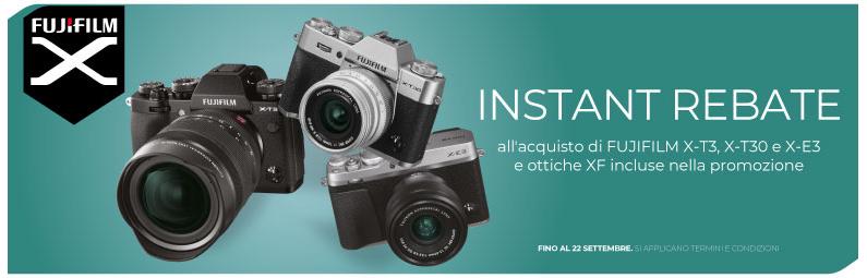 Fujifilm X Instant Rebate