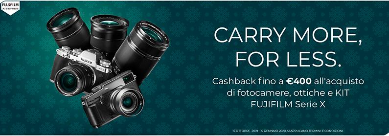 Fujifilm X Cash Back