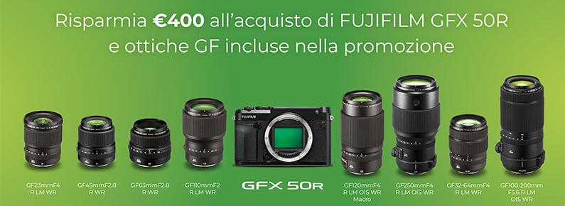 Fujifilm Instant Rebate obiettivi GF