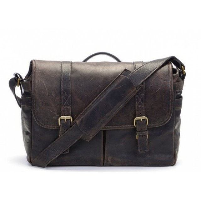 Ona Brixton Leather Dark Truffle