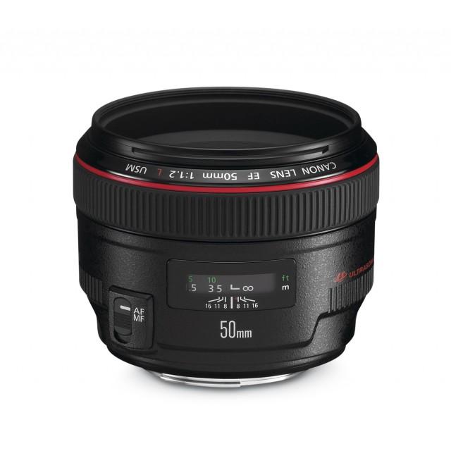 50mm f/1.2 L EF USM CANON