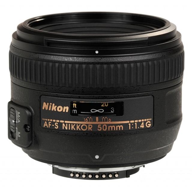 50mm f/1.4G AF-S NIKKOR