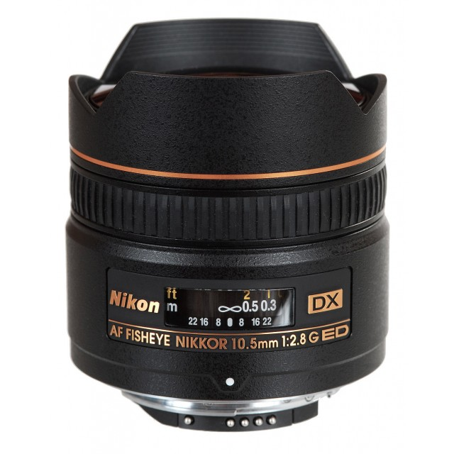 10.5mm f/2.8G IF-ED AF DX FISHEYE NIKKOR
