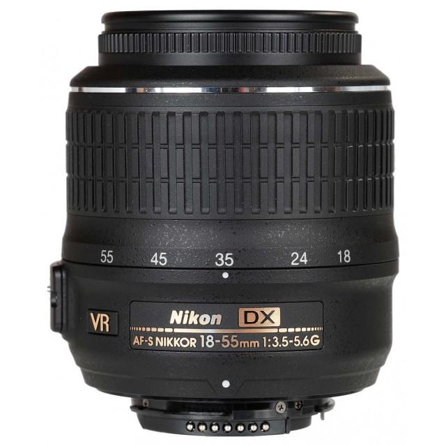 18-55mm f/3.5-5.6G AF-S DX BLACK VR NIKKOR