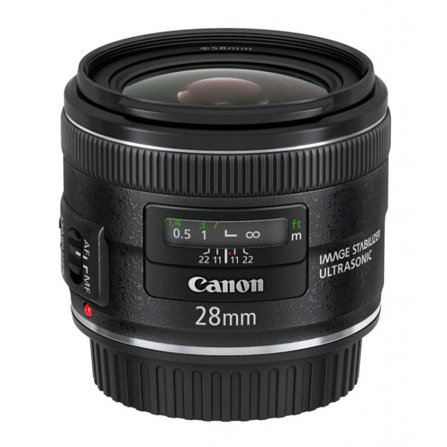 28mm f/2.8 EF IS USM CANON