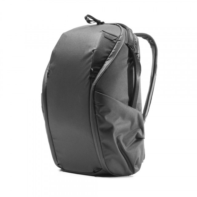 Everyday BackPack Zip Black 15L