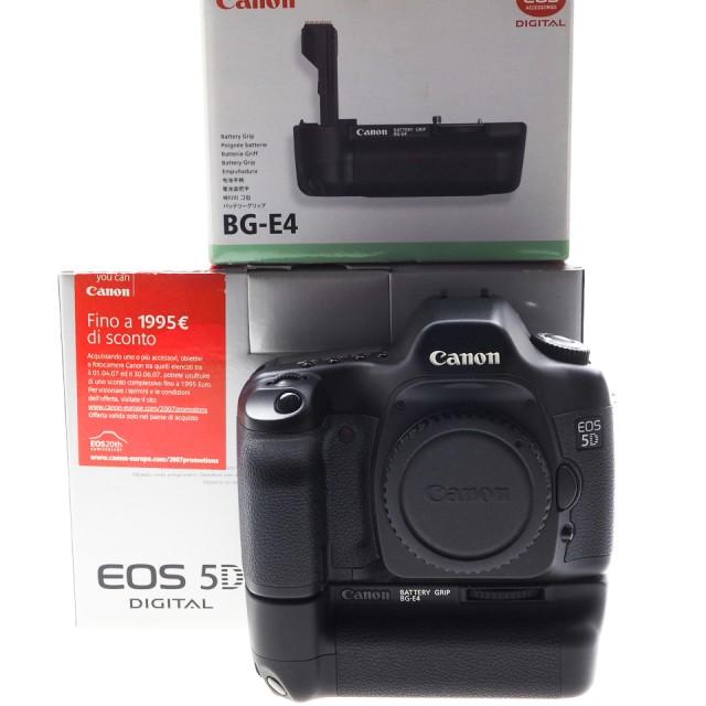 Canon EOS 5D + Battery Grip E4