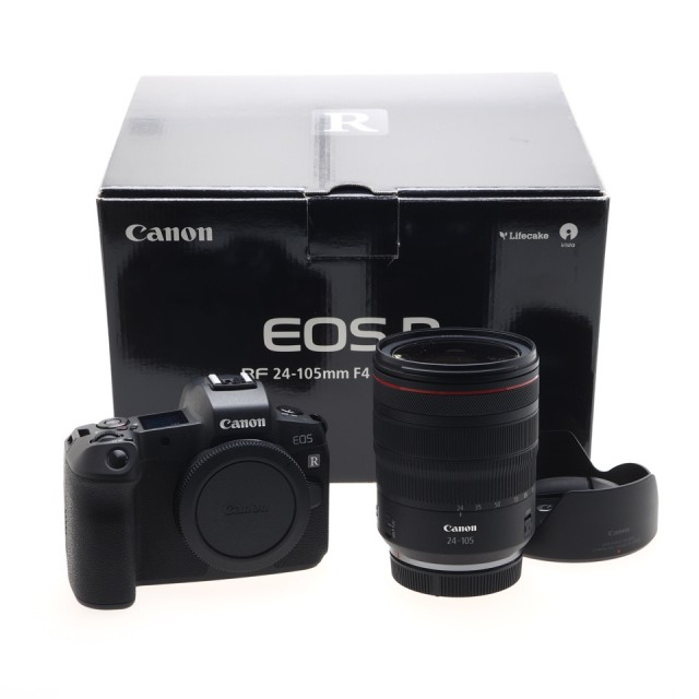 Canon EOS R + RF 24-105 F4 L IS USM + Mount Adapter