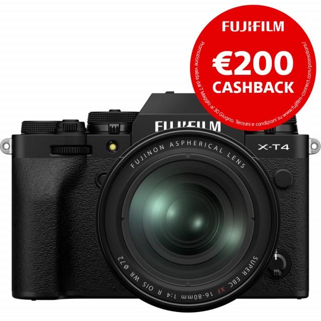 Fujifilm X-T4 Kit 16-80mm f/4 Black