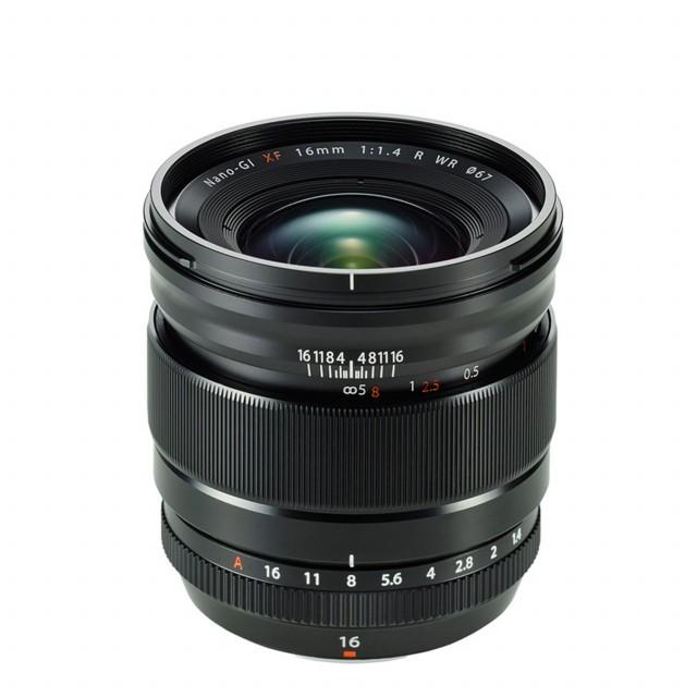 Fujifilm XF16mm F/1.4R WR