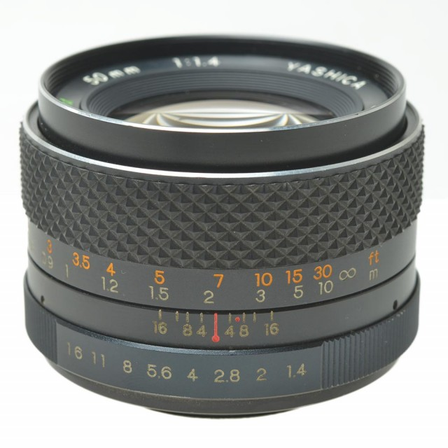 Yashica DS-M Auto 50mm F/1.4
