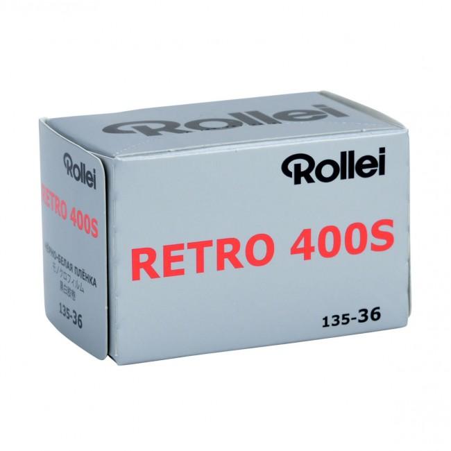 Rollei Retro 400 S 135-36 Pellicola negativo bianco e nero
