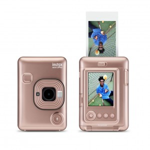 Instax mini LiPlay Fujifilm (Blush Gold)