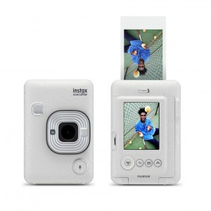 Instax mini LiPlay Fujifilm (Stone White)