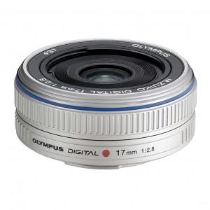 17mm f/2.8 SILVER PANCAKE OLYMPUS