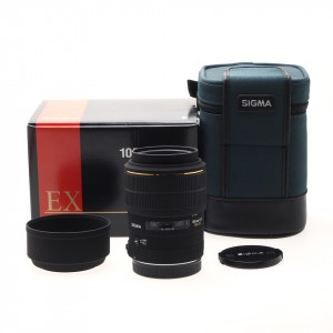 105mm f/2.8 EX Macro Sigma (Canon AF) Solo Manual Focus
