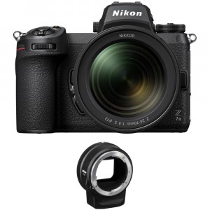 Nikon Z7 II + NIKKOR Z 24-70 f/4 S + FTZAdapter