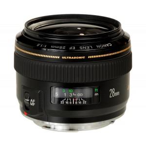 28mm f/1.8 EF USM CANON