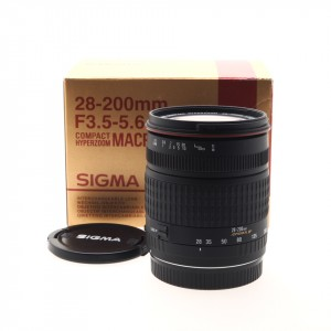 28-200mm f/3.5-5.6 Macro IF Sigma (Canon AF)