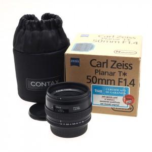 50mm f/1.4 T* Planar Zeiss (Contax AX)