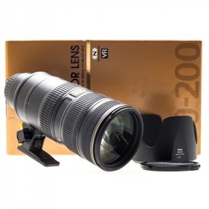 70-200mm f/2.8G VR II ED Nikkor AFS (Nital)