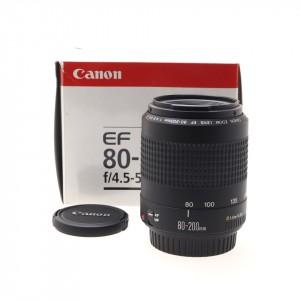 80-200mm f/4.5-5.6 II Canon EF