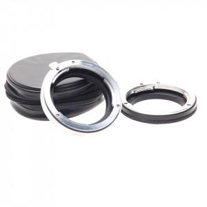 Anelli adattatori per ottiche Leica R su micro 4/3 (due)