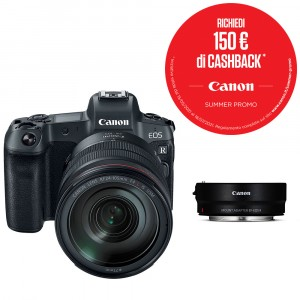 Canon Eos R Kit 24-105mm f/4 + Mount Adapter