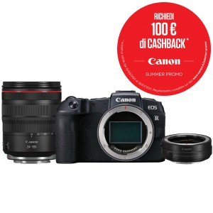 Canon EOS RP Kit 24-105mm + Mount Adapter EF-EOS R