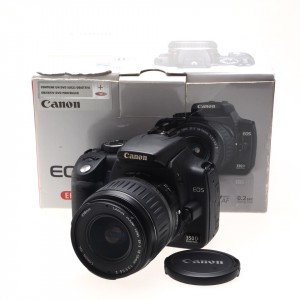 Canon EOS 350D black kit 18-55 II