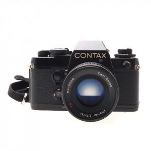 Contax 139 Quartz + 50mm f/1.7 Planar T*