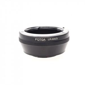 Fotga adattatore Leica R su Micro 4/3