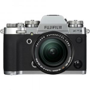 Fujifilm X-T3 Kit XF 18-55mm Silver