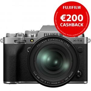 Fujifilm X-T4 Kit 16-80mm f/4 Silver