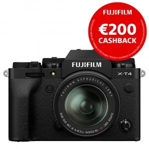 Fujifilm X-T4 Kit 18-55mm f/2.8-4 Black