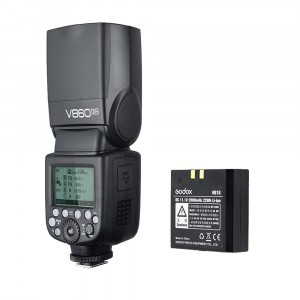Godox kit camera flash V860II TTL per Nikon