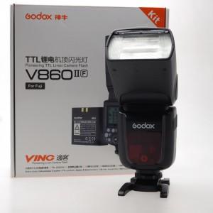 Speedlight Godox V860 II F per Fuji