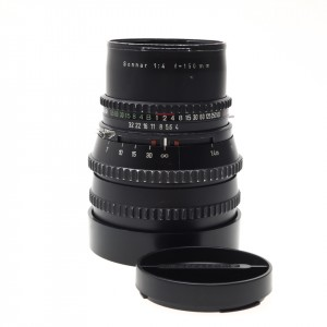 150mm F/4 Sonnar Hasselblad black