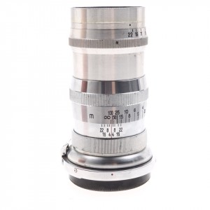135mm f/4 Sonnar Zeiss (Contax) Silver