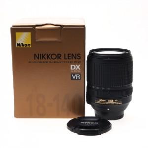 18-140mm f/3.5-5.6G ED VR Nikkor AFS DX