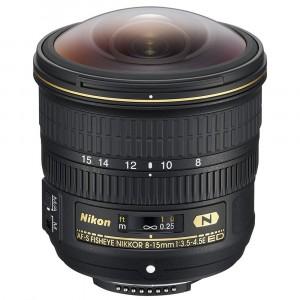 Nikkor 8-15mm f/3.5-4.5E ED AF-S Fisheye