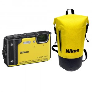 Nikon COOLPIX W300 Holiday Kit Yellow