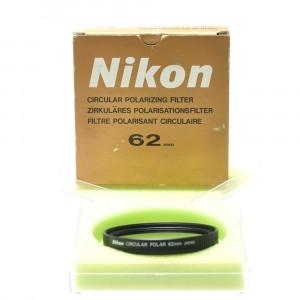 Nikon filtro polarizzatore 62mm