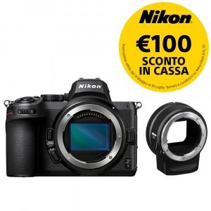 Nikon Z5 body + FTZ