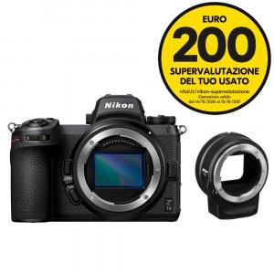 Nikon Z7 II body + FTZ Mount Adapter