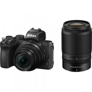 Nikon Z50 (KIT) DX 16-50mm VR + DX 50-250 VR + SD 64GB 667x Pro LEXAR