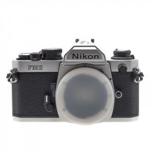 """Nikon FM2 Silver """"Ed. Speciale 80° Anniversario"""""""