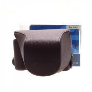 Olympus Pen Leather Case, EP-L1, brown