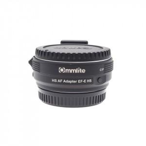 Ommlite adattatore Canon EF su Sony E
