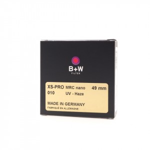 B+W Filtro UV Haze XS-Pro Digital 010 MRC nano 49mm